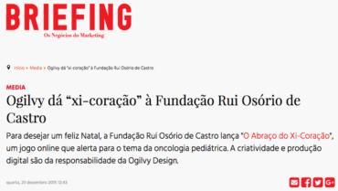 """Briefing – Ogilvy dá """"xi-coração"""" à FROC"""