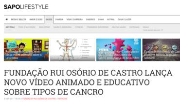 Sapo Lifestyle – Lançamento novo vídeo