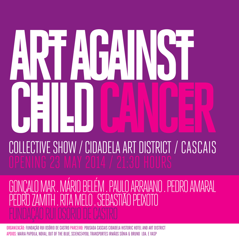 Exposição Art Against Child Cancer