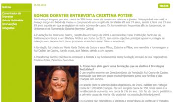 Apifarma – Entrevista Cristina Potier