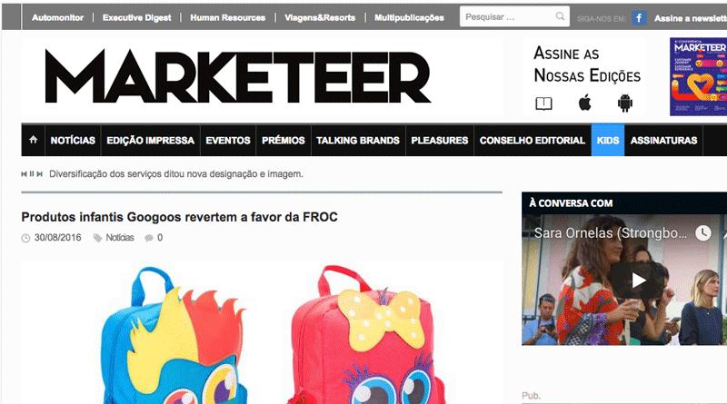 Marketeer – Produtos infantis Googoos