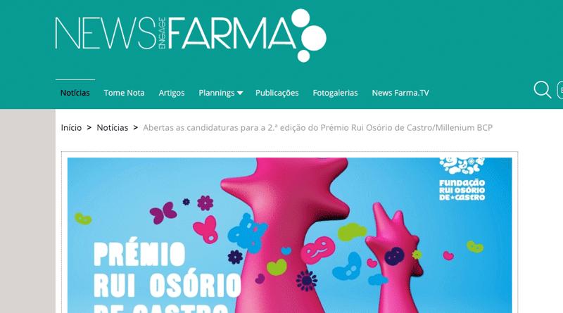 Newsfarma – candidaturas para a 2.ª edição do Prémio
