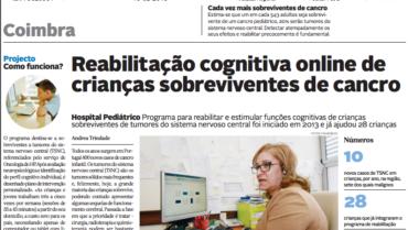 Reabilitação cognitiva online de crianças sobreviventes de cancro
