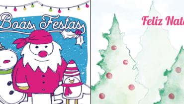 Já enviou os seus Cartões de Natal?