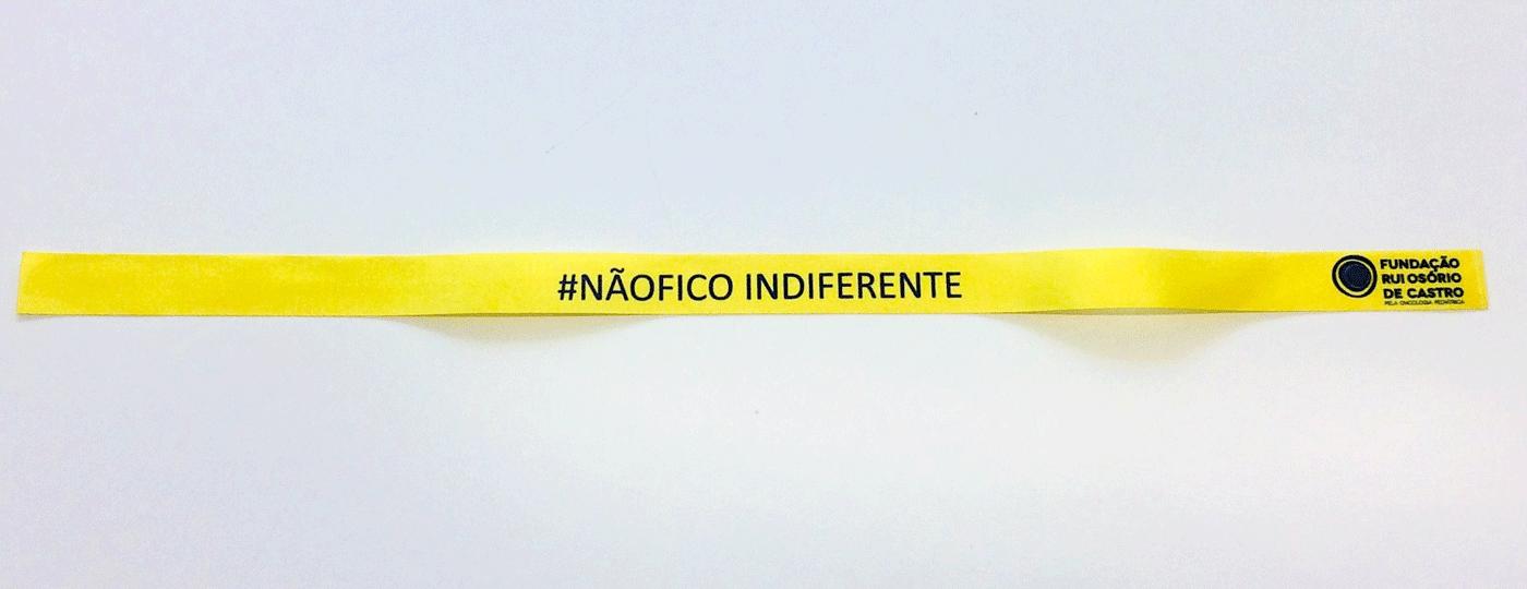 Pulseiras #NÃOFICOINDIFERENTE