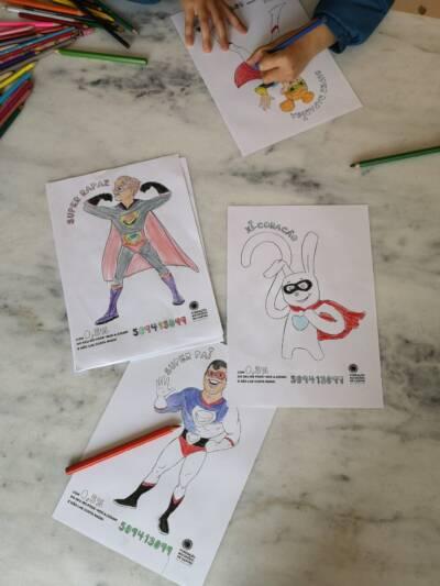 Com desenhos vamos pôr as crianças a explicar como consignar é tão fácil!