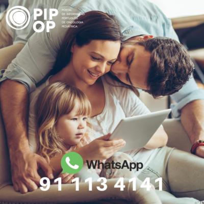 PIPOP disponibiliza um número de WhatsApp